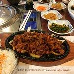 spicy pork bulgogi!
