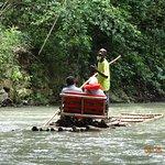 Bamboo River Raft