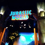 inside jurassic world exhibition