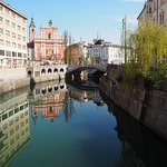 One minute from Mescanka apartment, Ljubljana historic centre