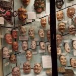 Masks found in the Pitt River Museum