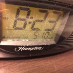 Dust on Clock Radio