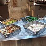 East India Company - buffet items.