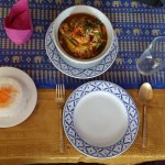 massaman curry with rice