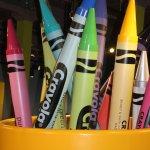 Crayolas everywhere