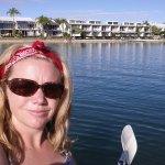 kayaking around Noosa Sound