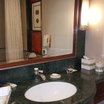 Bathroom are with bathtub and pure western toilet option.