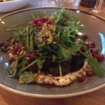 Lamb salad with pomegranates - little bursts of sunlight in your mouth!