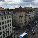 Busy street of Munich