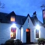 Night view of Jigger Inn after my meal at 8pm