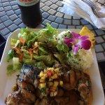 Hawaian BBQ Chicken dinner