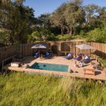 Little Vumbura Camp Pool Area