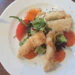 Haddock Goujons with sweet chilli sauce