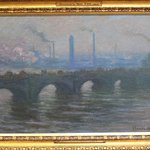Monet: Waterloo Bridge [one of 41 paintings with this theme]