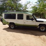 The Land Cruiser I was in for 3 days