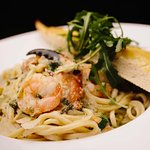 Milltown Malbay Crab, Prawn  Clam Linguini