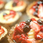 deliciously fresh pastries baked fresh every day