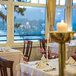 Main restaurant, romantic dinner setting, great views