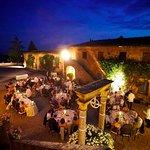 courtyard Villa Catignano