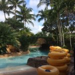 Lazy river..... nice warm water, takes about 8 -10 minutes for a circuit