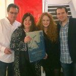 Dolan Family receiving venue of the year award in Dublin