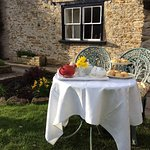 Treat yourselves to a Cream Tea with home made scones.