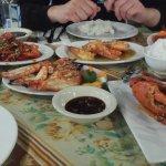 Seafood dinner!