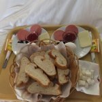 Room-service breakfast