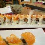 sushi di Salmone con miso