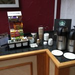 Selection of teas and coffee