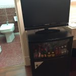 TV with a bidet view