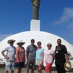 A small group, we visited Mount Isabel and the replica of Christ The Redeemer...