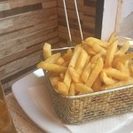 Portion of chips (well were on holiday)