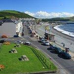 Aberystwyth South Beach - view from the castle grounds