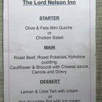 Sunday Lunch - set menu