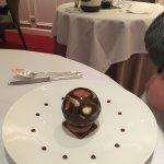 Ce dessert est une bombe au sens propre et au sens figuré (je n'en dévoilerai pas plus )