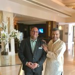With Himanshu Sachdev, Hotel General Manager