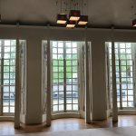 The Music Room windows