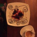 Mi lugar preferido para cenar costillas con un delicioso postre con un buen cafe!