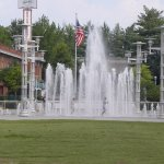 Fountains at Worlds fair park knoxville