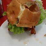 A sad bun that breaks down at first bite