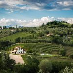 Foto panoramica Az. Agricola Podere Petraia -CARMIGNANO-