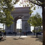 Metres from Arc De Triomphe!