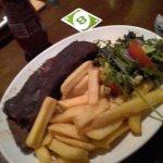 Beautiful beef rib