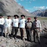 Gracias Pablo, Juan, Chapu, Luis, Lalo , Marcelo , Franco y compañeros amigos de expedicion