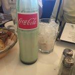 Horchata served in coke bottles. Awesome!