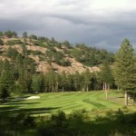11th hole at Coyote Moon. One of many beautiful holes.