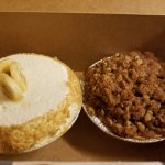 Banana creme and Apple Crisp
