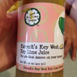Delicious key lime juice!