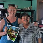 Emma and Eduardo humphreys. After a tour in Puerto Limon, Costa Rica